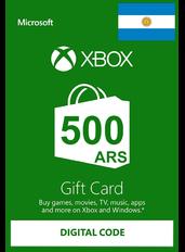 Xbox Guthabenkarte 500 (ARS) | Argentinien