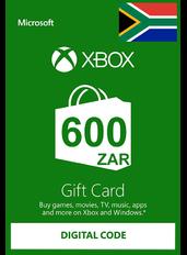 Xbox Gift Card R600 (ZAR) | Sud Africa