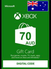 Xbox Guthabenkarte $70 (AUD) | Australien