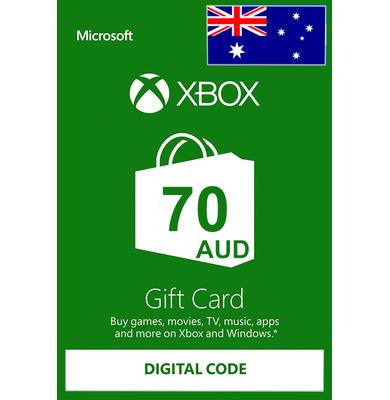 Xbox Gift Card $70 (AUD) | Australia