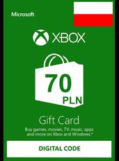 Xbox Guthabenkarte 70 zł (PLN)   Polen