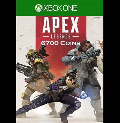 Apex Legends: 6700 Apex Coins (Xbox One)