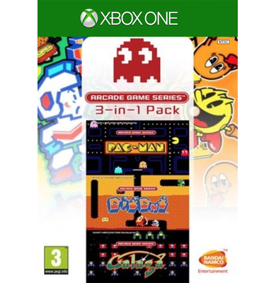 ARCADE GAME SERIES 3-In-1 Pack (Xbox One)