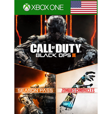 Call of Duty: Black Ops (3) III - Zombies Deluxe (USA) (Xbox One)