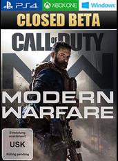 Call of Duty Modern Warfare (2019) - Closed Beta Key (PC/PS4/Xbox One)