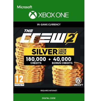 The Crew 2 - Silver Crew Credits Pack (Xbox One)