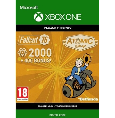 Fallout 76 - 2400 Atoms (Xbox One)