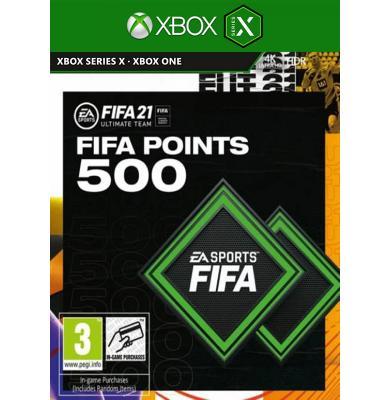 FIFA 21 - 500 FUT Points (Xbox One / Series X)