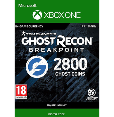 Tom Clancy's Ghost Recon: Breakpoint - 2800 Ghost Coins (Xbox One)