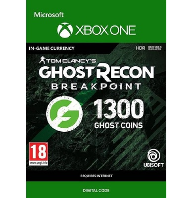 Tom Clancy's Ghost Recon: Breakpoint - 1300 Ghost Coins (Xbox One)