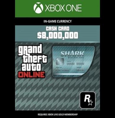 Grand Theft Auto Online: Megalodon Shark Cash Card - GTA V (5) (Xbox One)