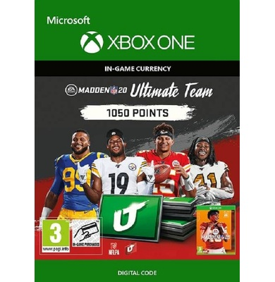 Madden NFL 20 - 1050 MUT Points (Xbox One)