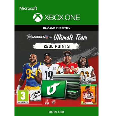 Madden NFL 20 - 2200 MUT Points (Xbox One)