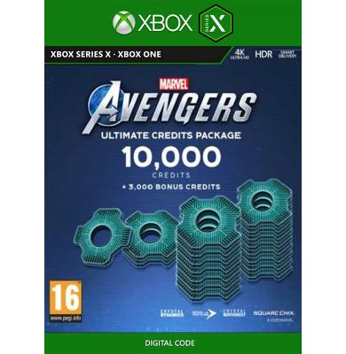 Marvel's Avengers - 10000 Heroic Credits Pack (Xbox One / Series X)