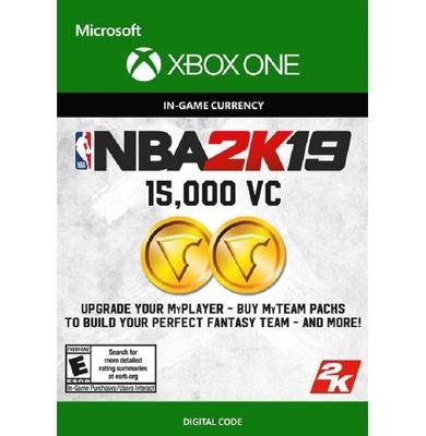 NBA 2K19: 15,000 VC (Xbox One)