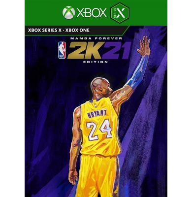 NBA 2k21 Next Generation Mamba Forever Edition Bundle (Xbox Series X)