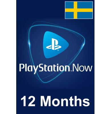 PS Now 12 Month (Sweden)