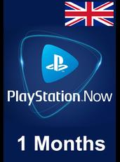 PS Now 1 Mes (UK - Reino Unido)