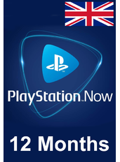 PS Now 12 Meses (UK - Reino Unido)