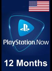 PS Now 12 Meses (USA - Estados Unidos)