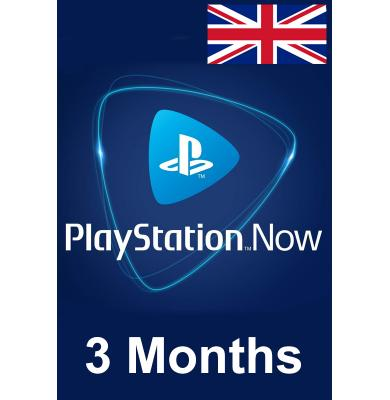 PS Now 3 Month (UK - United Kingdom)