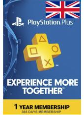 PS Plus 12 Luni (UK - Marea Britanie)