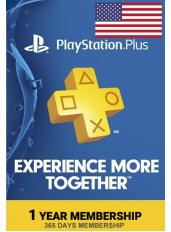 PlayStation Plus 12 Meses (USA - Estados Unidos)