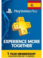 PlayStation Plus 12 Meses (España)