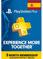 PlayStation Plus 3 Meses (España)