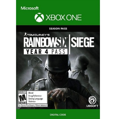 Tom Clancy's Rainbow Six Siege Season Pass Year 4 (Xbox One)