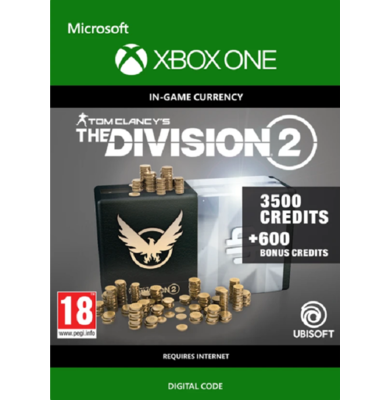 Tom Clancy's: The Division 2 - 4100 Credits (Xbox One)