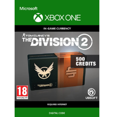 Tom Clancy's: The Division 2 - 500 Credits (Xbox One)