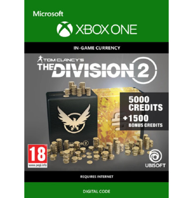 Tom Clancy's: The Division 2 - 6500 Credits (Xbox One)