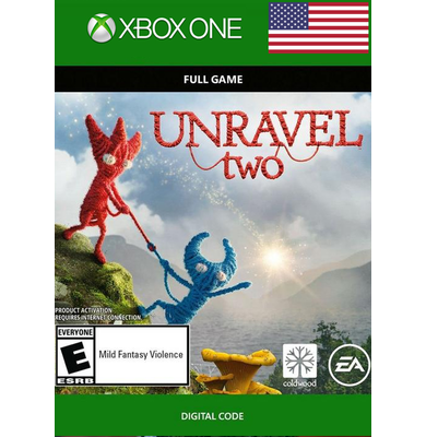 Unravel Two (USA) (Xbox One)