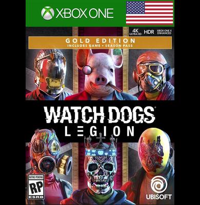 Watch Dogs: Legion - Gold Edition (USA) (Xbox One)