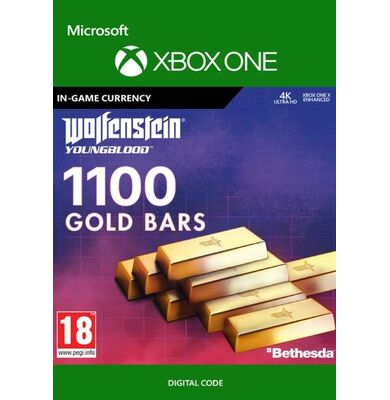 Wolfenstein: Youngblood - 1100 Gold Bars (Xbox One)