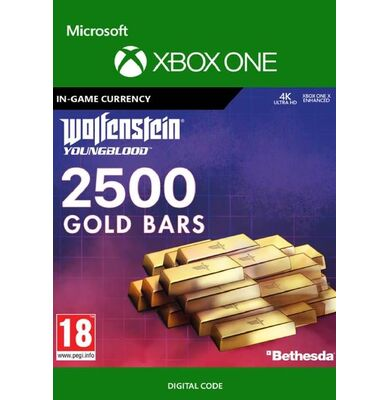 Wolfenstein: Youngblood - 2500 Gold Bars (Xbox One)