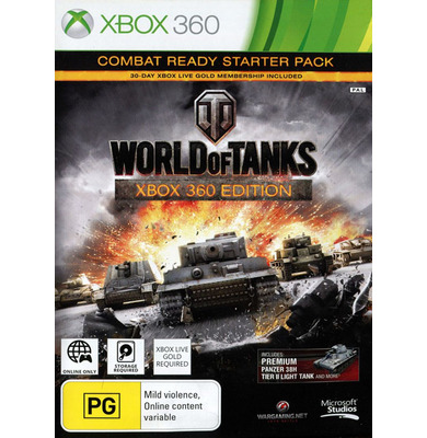 World of Tanks: Xbox 360 Edition - Combat Ready Starter Pack (Xbox 360)