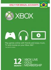 Xbox Live Gold 12 Meses (Brasil)