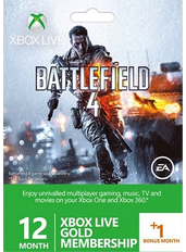 Xbox Live Gold 13 Monate (GLOBAL)