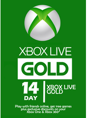Xbox Live Gold 14 Tage (GLOBAL)