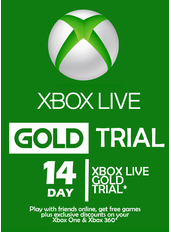 Xbox Live Gold 14 Days Trial (GLOBAL)