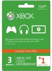 Xbox Live Gold 4 Monate (GLOBAL)
