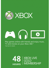 Xbox Live Gold 48 Hours Trial (GLOBAL)