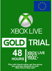 Xbox Live Gold 48 Hours Trial (Europe)